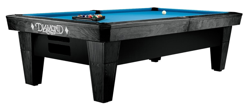 Diamond Billiards Pro-Am Pool Table in Charcoal