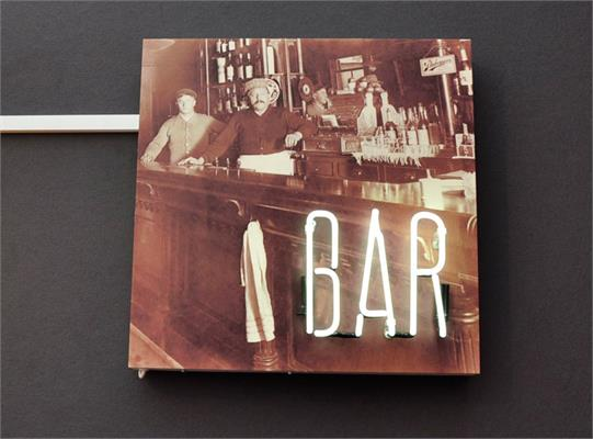 Bar Printed Neon Sign