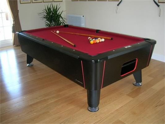 Longoni King Coin-Op Pool Table - 7ft, 8ft