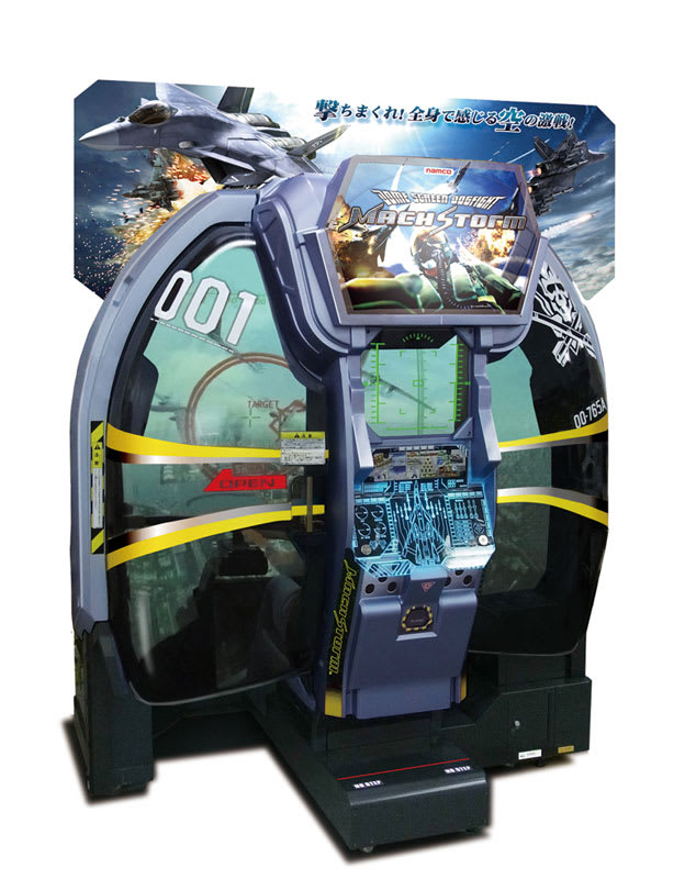 An image of Mach Storm Arcade Machine (Refurbished)