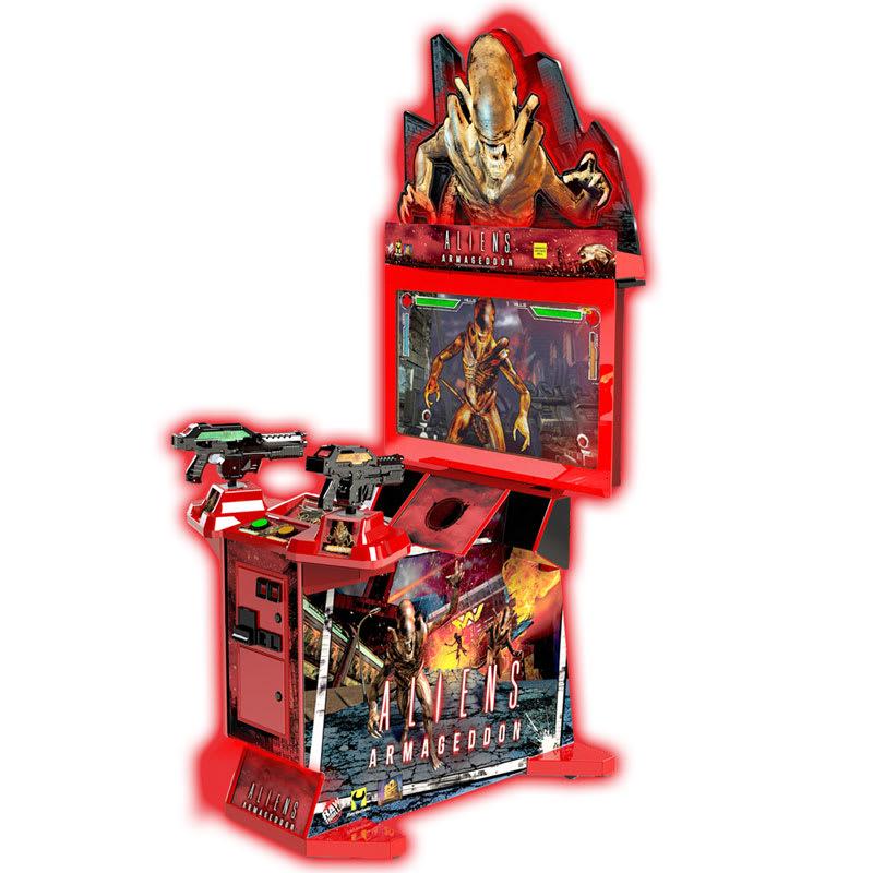 An image of Aliens Armageddon Arcade Machine