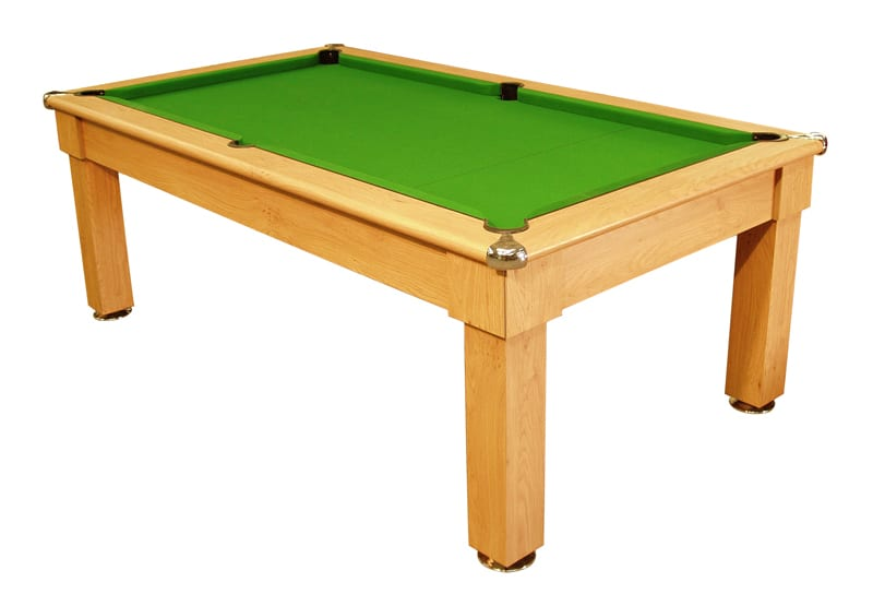 Oxford Pool Table in Winchester Oak