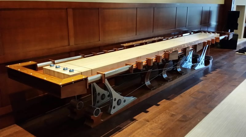 Hurricane Billiards Force 12 Shuffleboard