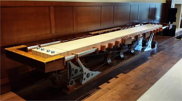 Hurricane Force 12 Shuffleboard 16ft