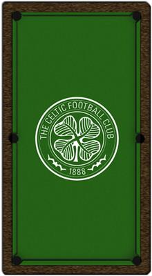Celtic FC Pool Table Cloth - 7ft