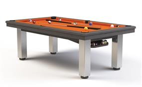 Billards Montfort Samoa Stainless Steel Pool Table - 7ft, 8ft