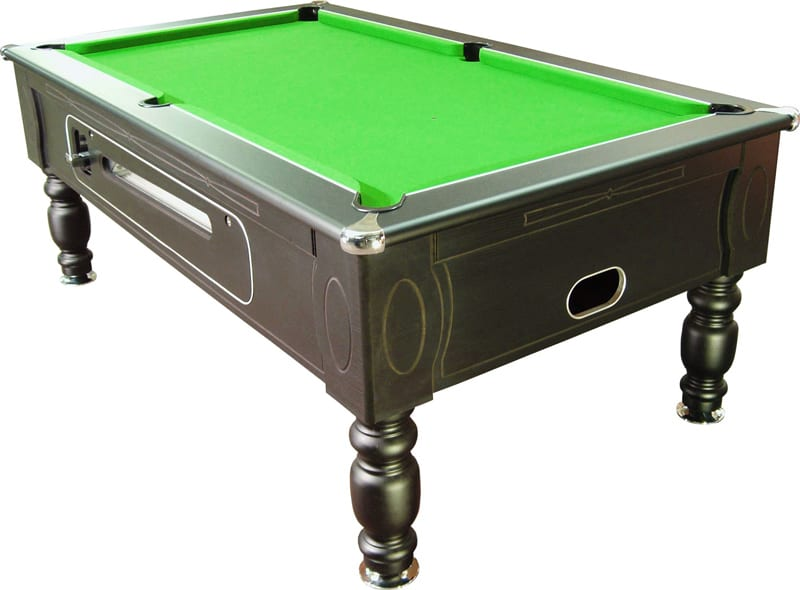 Optima Pool Table Black