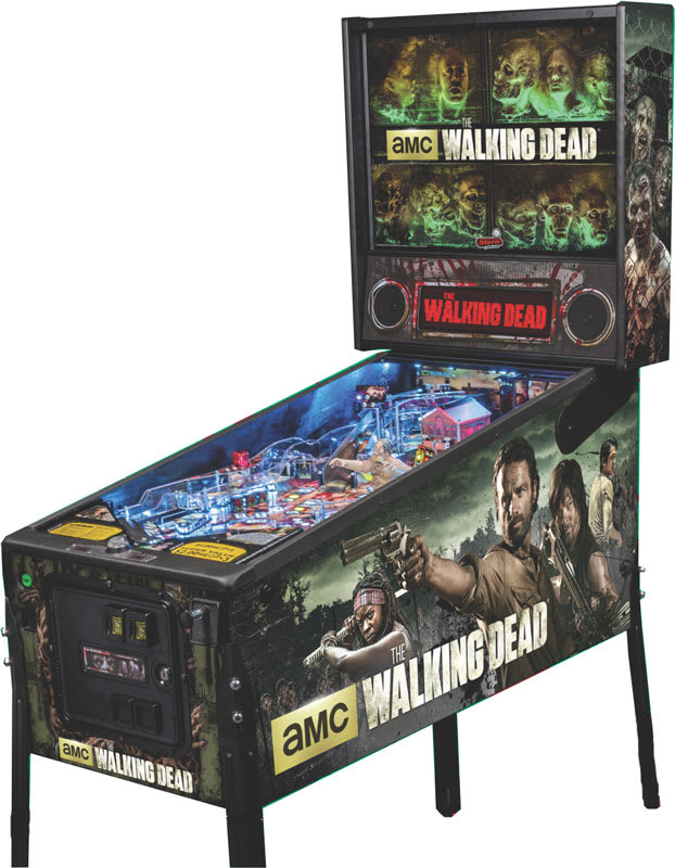 An image of The Walking Dead Premium Pinball Machine
