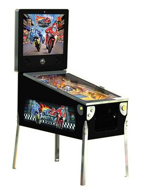 Full Throttle Pinball Machine