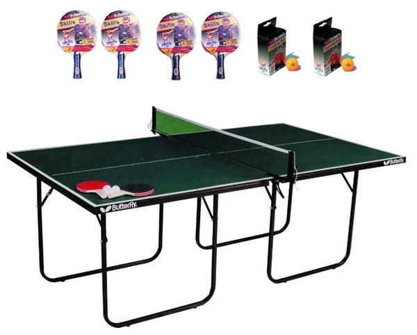 An image of Butterfly Start Sport Table Tennis Deluxe Package