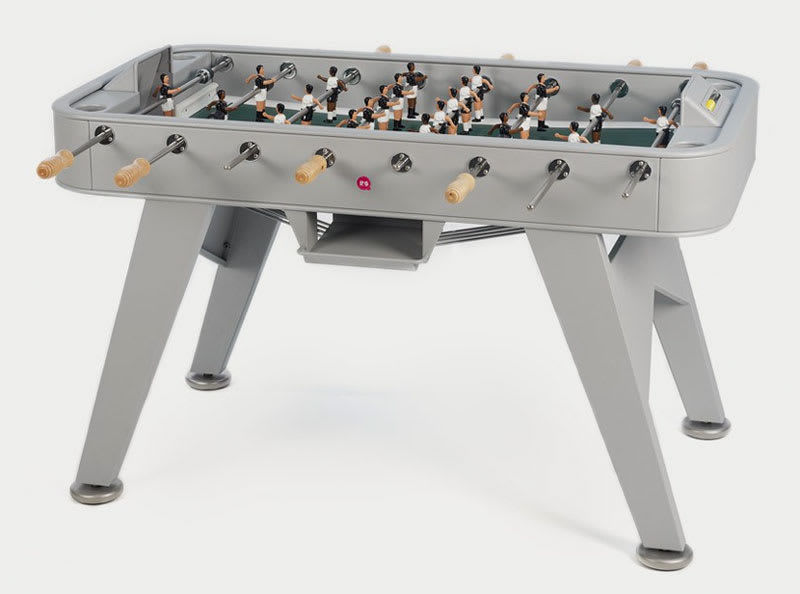 An image of RS Barcelona RS#2 Football Table: Silver