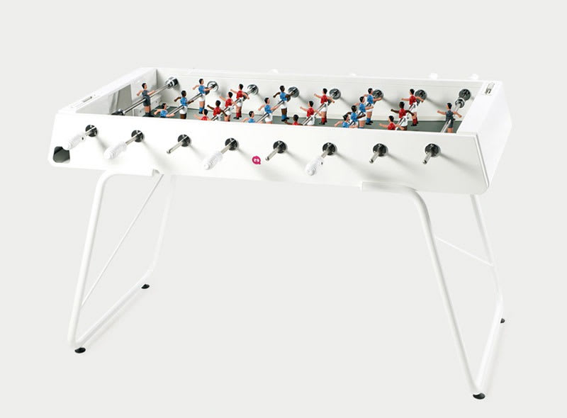 An image of RS Barcelona RS#3 Football Table: White