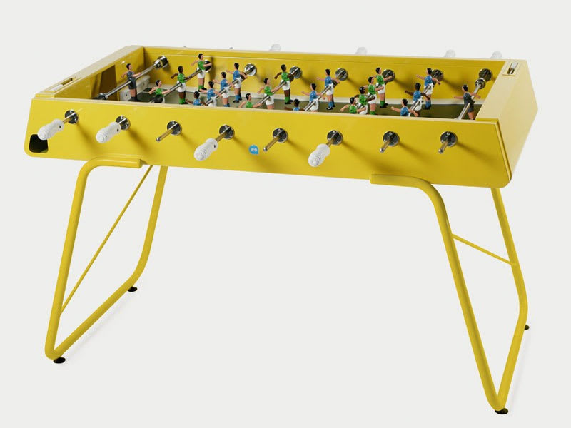 An image of RS Barcelona RS#3 Football Table: Yellow