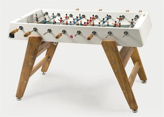 RS Barcelona RS#3 Wood Football Table: White