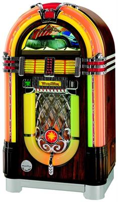 Wurlitzer One More Time CD Jukebox - Wood Finish