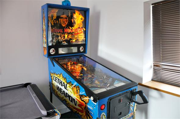 Lethal Weapon 3 Pinball Machine