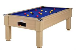 Emirates Pool Table: Oak - 6ft, 7ft