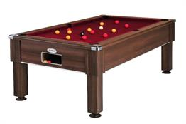 Emirates Pool Table: Dark Walnut - 6ft, 7ft