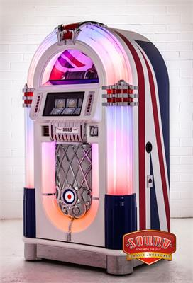 Sound Leisure Juke Britannia Vinyl Jukebox