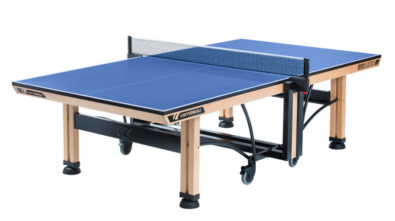 Cornilleau 850 Wood Indoor Table Tennis Table - Blue