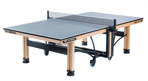 Cornilleau ITTF Competition Wood 850 Indoor Table Tennis Table - Grey