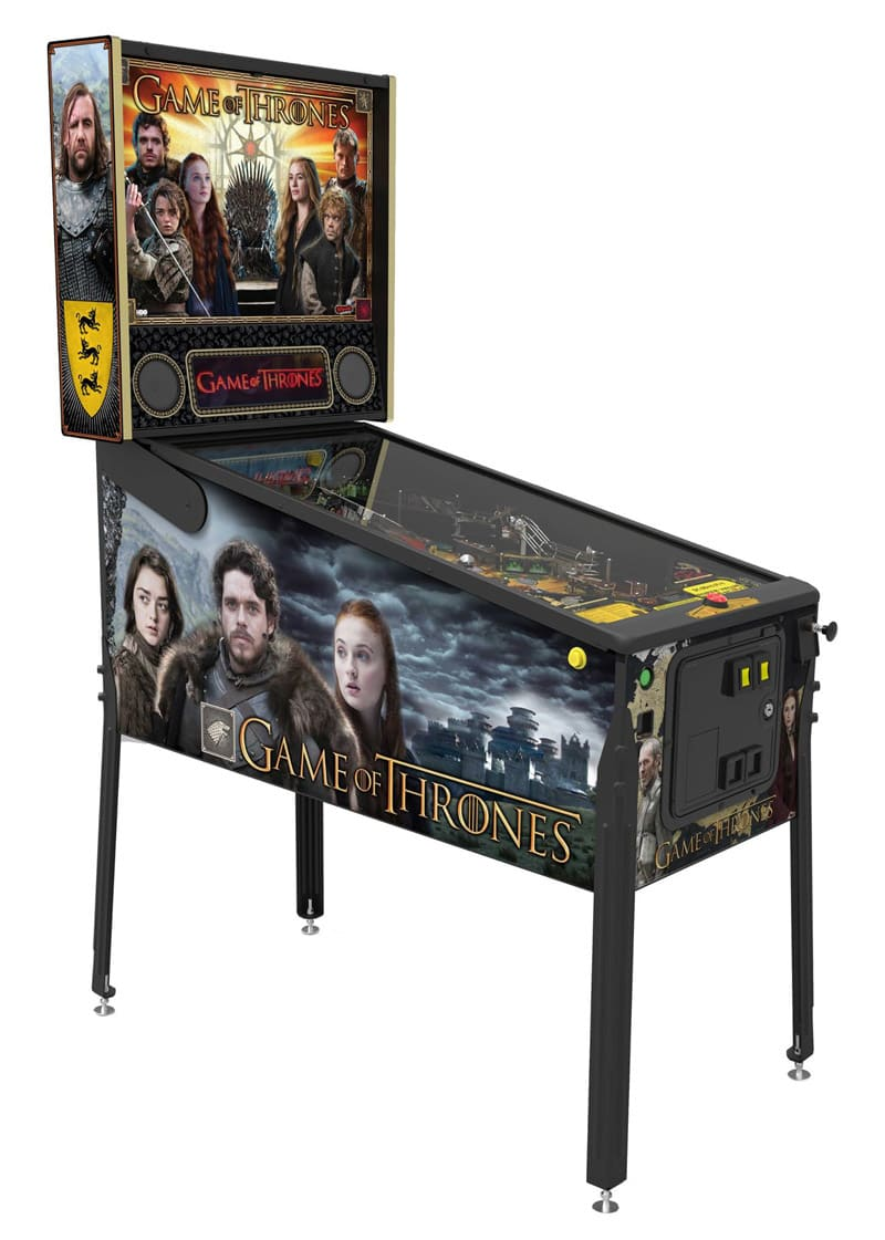 An image of Game of Thrones Pro Pinball Machine