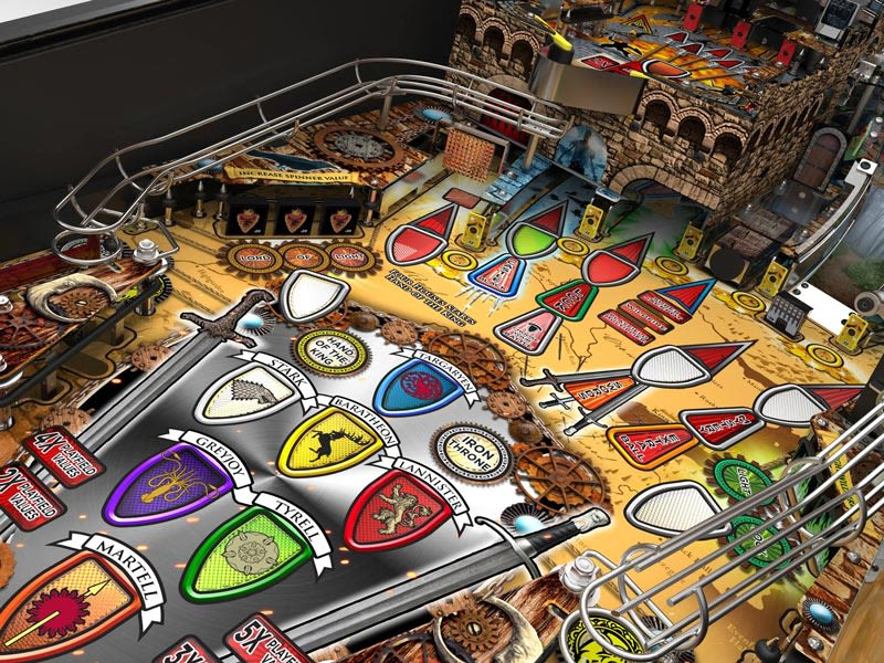 Stern Game of Thrones Pinball Machine Missions