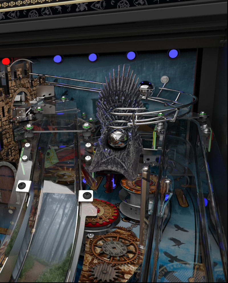 Stern Game of Thrones Pinball Machine - Throne