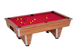 Champion Pool Table: Walnut - 6ft, 7ft