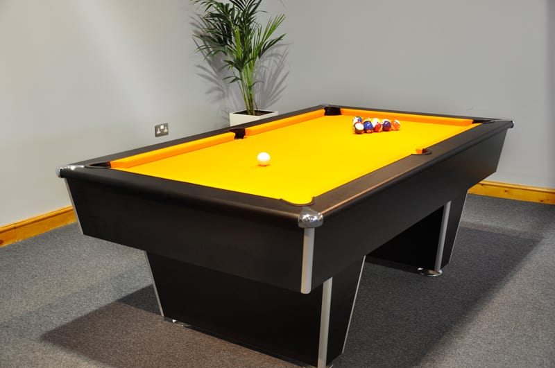 Signature Harvard Pool Table - Three Quarter View