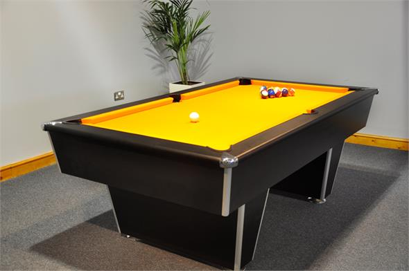 Signature Harvard American Pool Table: All Finishes - 7ft