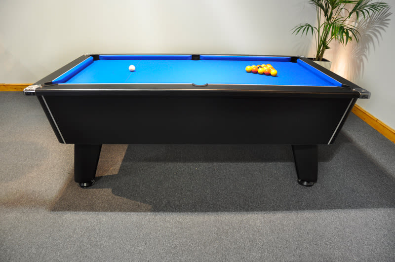Signature Tournament Pool Table - Side View