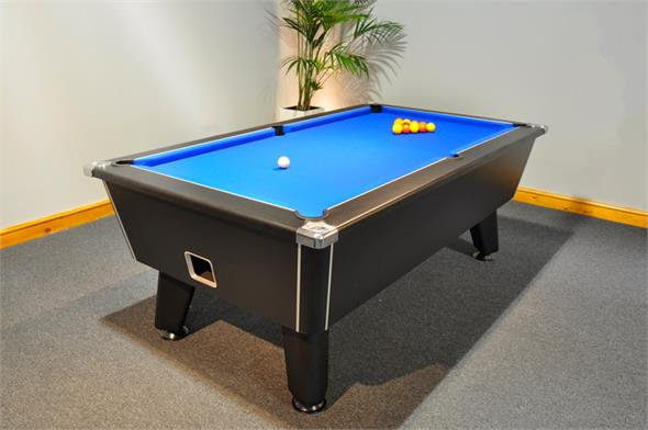 Signature Tournament Pool Table: Black - 7ft - Ex-Display Special