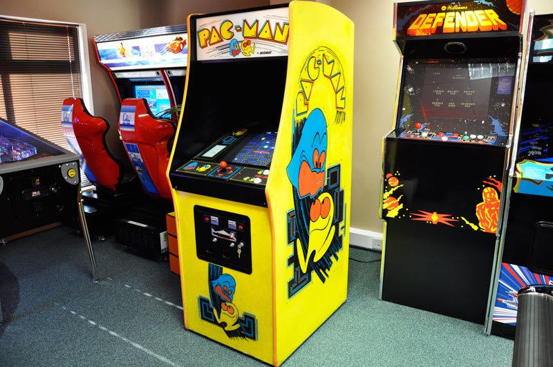 An image of Pac-Man Arcade Machine