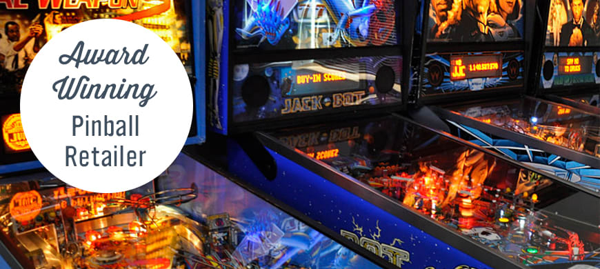 Awesome Pinball Machines For Sale Award Winning Games Retailer Interior Design Ideas Gentotryabchikinfo