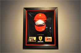Sebastian Vettel - Ferrari Cap - Domed Display