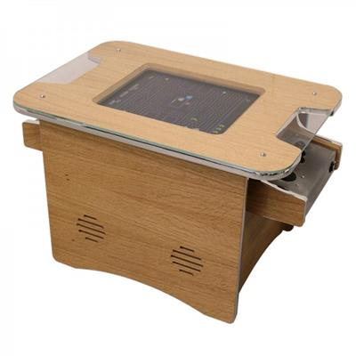 GamePro Coffee Table Arcade Machine - Oak