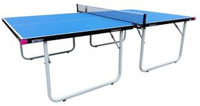 Butterfly Compact Indoor 19 Table Tennis Table - Blue