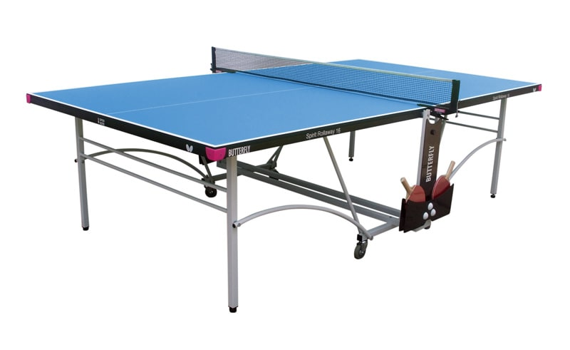 An image of Butterfly Spirit Indoor 16 Table Tennis Table - Blue