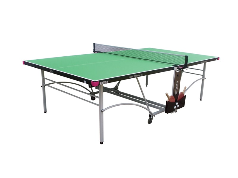 An image of Butterfly Spirit Indoor 16 Table Tennis Table - Green