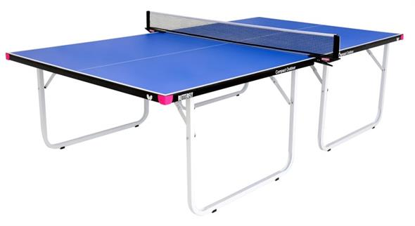 Butterfly Compact Outdoor Table Tennis Table - Blue