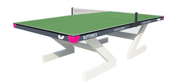 Butterfly Ultimate Outdoor Table Tennis Table - Green