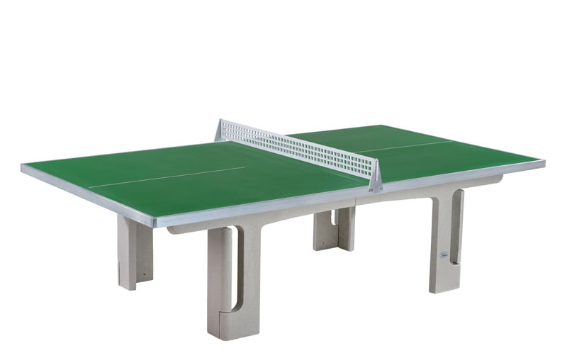 An image of Butterfly Park Polymer Concrete 45SQ Outdoor Table Tennis Table |