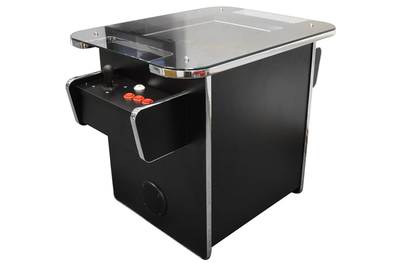 An image of GamePro Invader 60 Cocktail Arcade Machine - Black