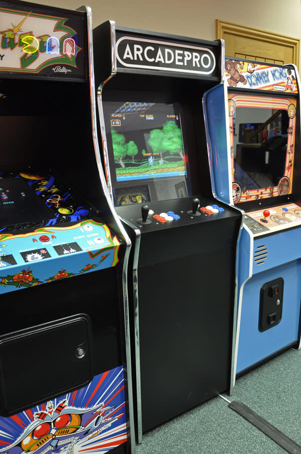 ArcadePro Invader Upright Arcade Machine - Full