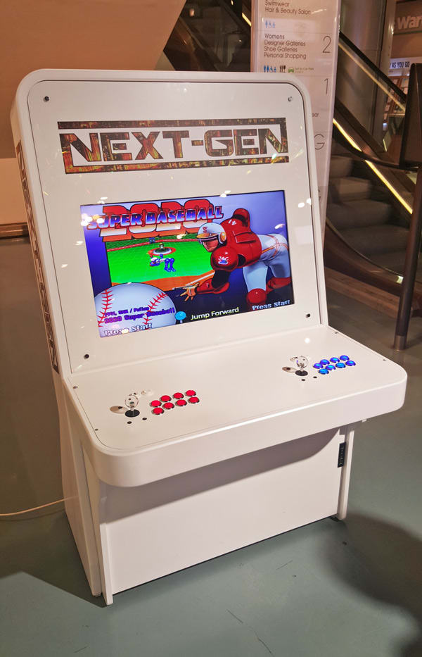 Arcade Pro Next-Gen Arcade Machine in Selfridges London
