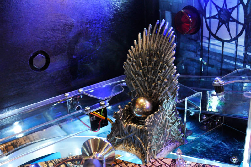 Game of Thrones Pinball Machine - Iron Throne Model