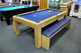 Billards Montfort Lewis Oak Pool Table