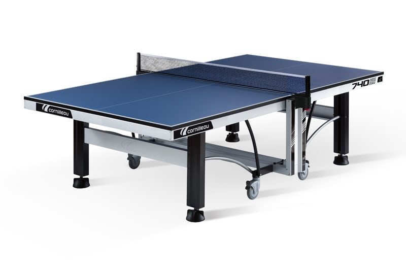 An image of Cornilleau ITTF Competition 740 Indoor Table Tennis Table: Blue
