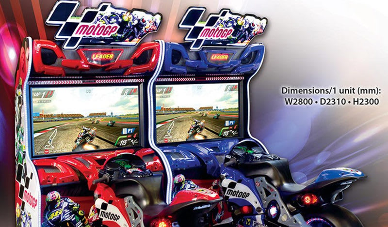Moto Gp Arcade Machine For Sale